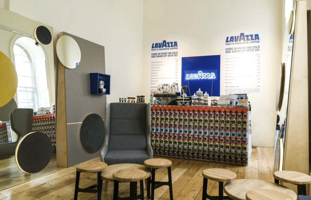 Lavazza Lounge promo Somerset House
